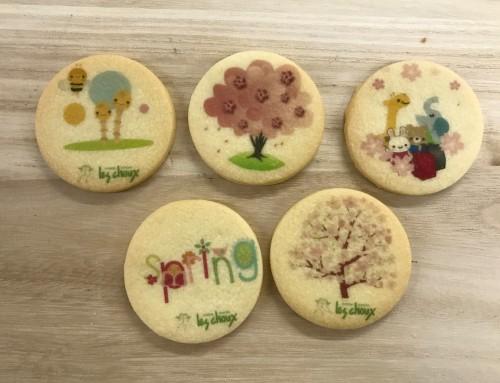 プリント バタークッキー