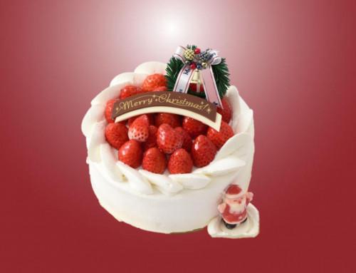 クリスマスケーキのご予約はおすみですか・・・