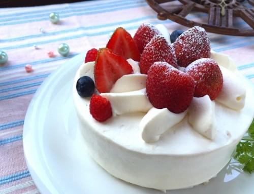 ご予約:苺のショートケーキ