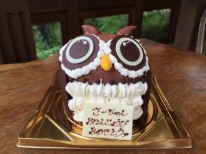 特注/フクロウのケーキ