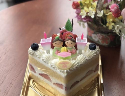 ひな祭りケーキについて(レ・シュー公式/インスタグラム)